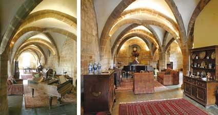 The Undercroft, Stoneleigh Abbey