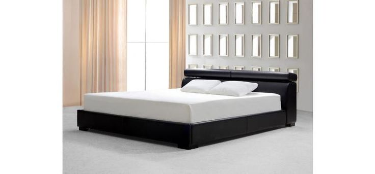 Stylish Design Furniture - Logan Black Leather Bed with storage, $1,320.00 (http://www.stylishdesignfurniture.com/products/logan-black-leather-bed-with-storage.html)