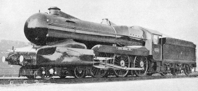 King Henry VII, partially streamlined, GWR Swindon