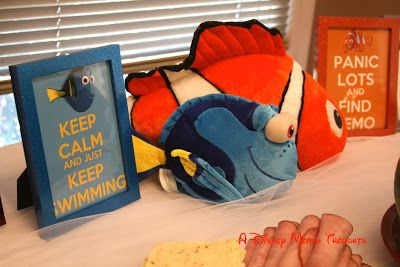 A Disney Mom's Thoughts: Finding Nemo First Birthday Movie Posters printed as 5x7 pictures