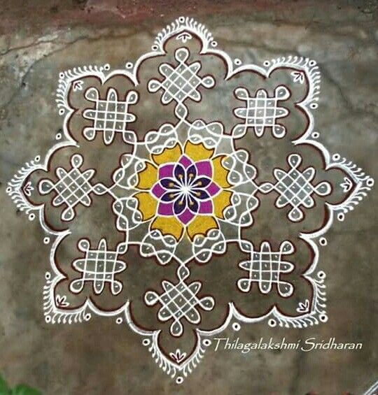 10 images about rangoli kolam alpana on pinterest for Floor rangoli design