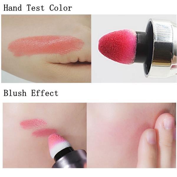 Shake Air Cushion Lip Glaze Gloss Liquid Waterproof Makeup Moisturizing Long-lasting 6 Colors