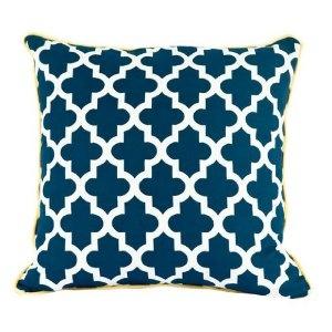 Islamic pattern on toss pillow