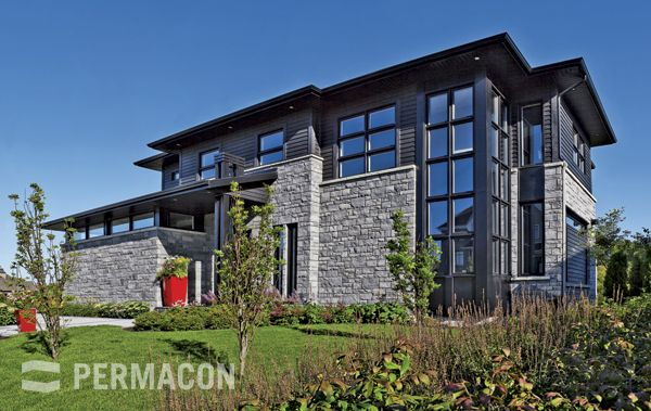 Lafitt Stone range Newport grey permacon.ca  available at our store at 3500 Mavis Rd, Mississauga, ON L5C 1T8