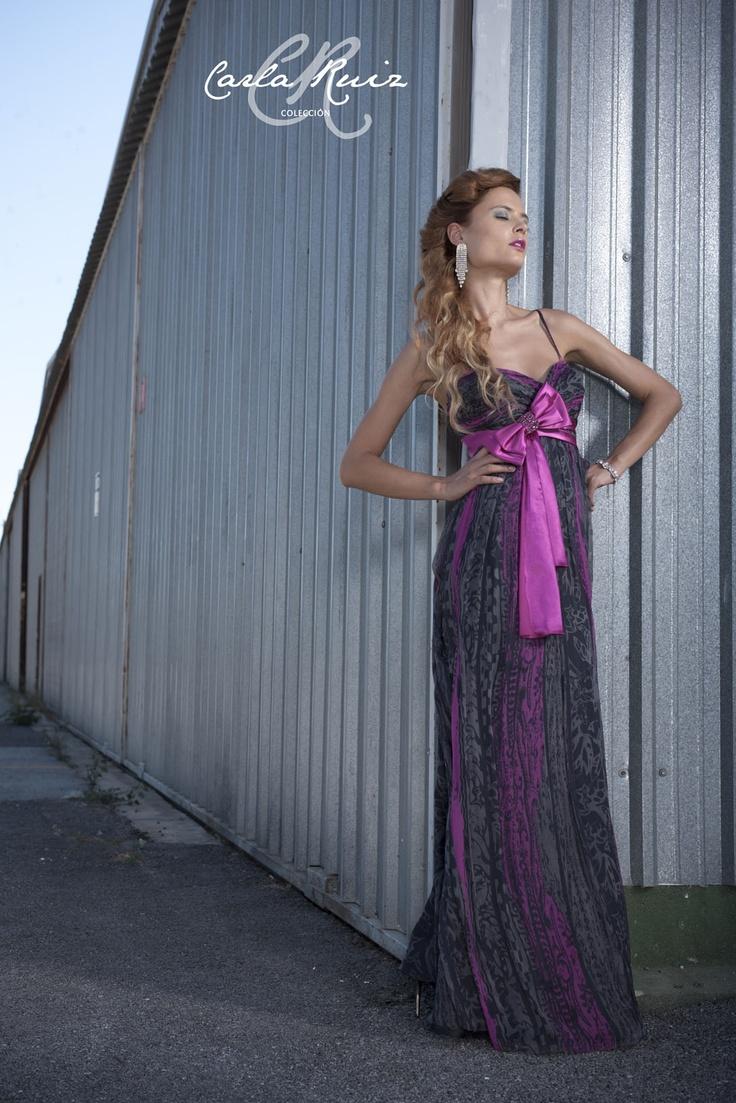 Vestido de Fiesta de Carla Ruiz 2012 - Modelo 86073