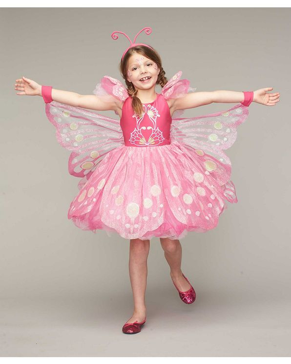 Pink Butterfly Costume For Girls - Chasing Fireflies