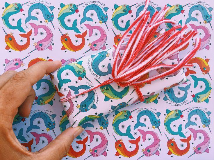 Free pattern Narval designed by Enrica Mannari