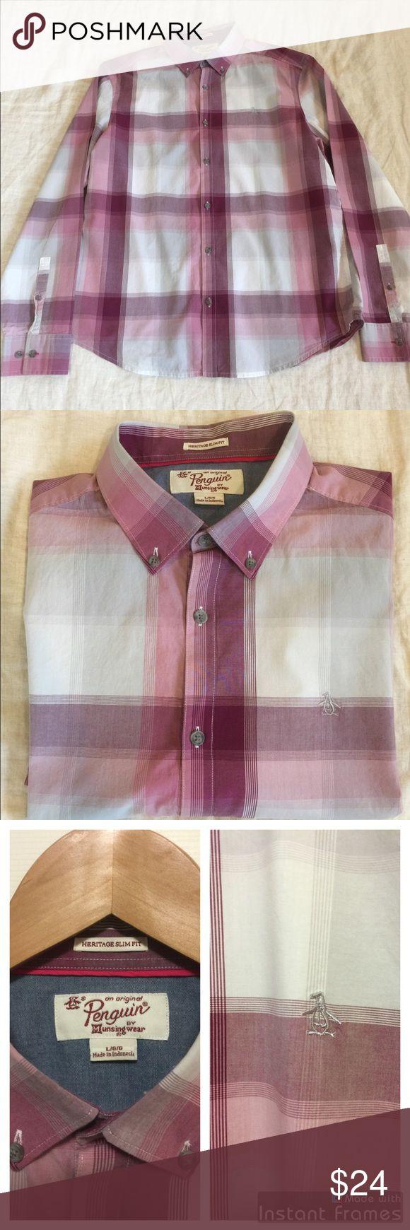 c6ed14008 Men's Original Penguin L/S button down shirt