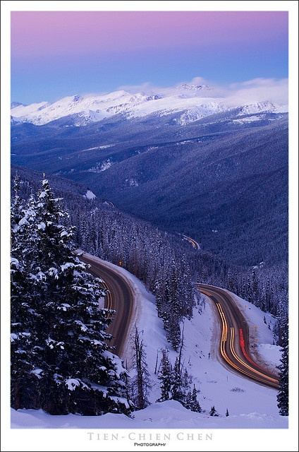 Berthoud Pass, Colorado | Colorado | CO | Berthoud Pass | driving | mountains | snow