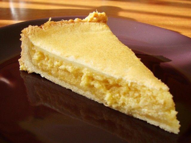 Лимонный пирог со сгущённым молоком1