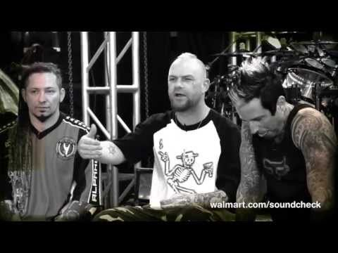 Get the inside scoop from heavy metal rockers, Five Finger Death Punch, on their hit new album in this revealing Walmart Soundcheck interview!