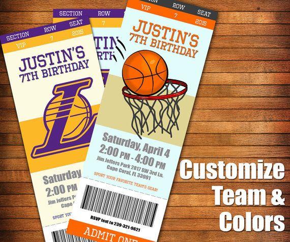 Best 25+ Basketball Tickets Ideas On Pinterest