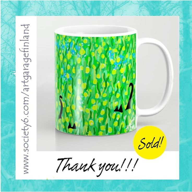 Sold!! 😸🐾 ...thanks to the buyer of this 'Two Black Cats' coffee mug from the Society6 Mollycat Collection!!! (follow link in bio @mollycat_finland )  .  .  #sale #mug #cup #shareyoursociety6 #society6 #coffeemugs #cats #blackcat #blackcats #drink #green #designer #thankyou #s6 #instamug #instagreen #instacats #catstuff #catmugs #instalike #designoftheday #mollycatfinland #catlovers #catscatscats #twoblackcats  #homedecor #giftideas #catlovers #catpeople #猫 #katzen