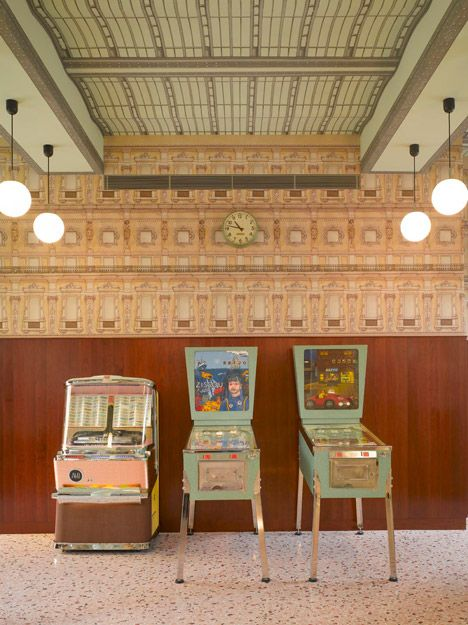 Wes Anderson-designed Bar Luce takes its cues from old Milanese landmarks and cafes - Retailand Restaurant Design