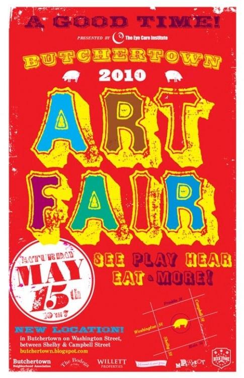 art fair poster Art fair booth, Art fair, Louisville ky