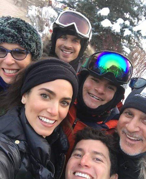 Ian Somerhalder - Ian & Nikki with family - Sun Valley in ...