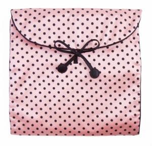 Zizzi Polka Dot lingerie bag