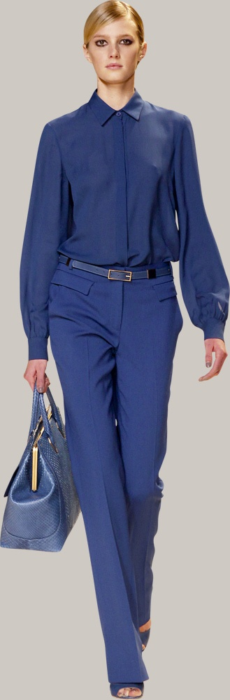 Blue-tone-coloured fashion: my favourites