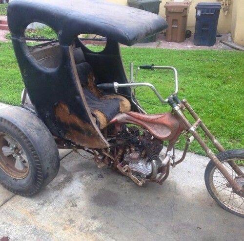 Old custom trike