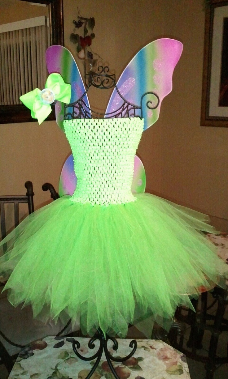 Colorful Tinkerbell Party Dress Gift - Wedding Dress Ideas ...