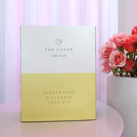 The Caker Ginger Pear Pistachio Cake Mix