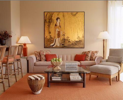 leben asiatische innenraum orientalischen malerei