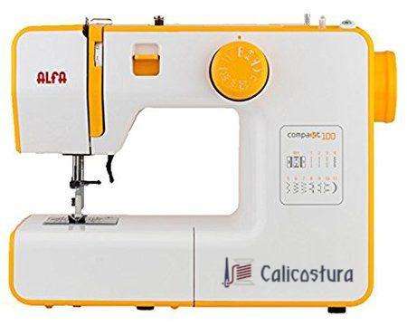 La Alfa Compakt 100 es una de las creaciones más importantes e innovadoras de la marca Alfa. Con características dignas de una máquina de su clase, su relación calidad precio es muy buena.  #Alfa #baratas #calicostura