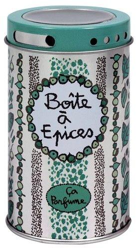 keladeco.com  - Boite à épices ça parfume, boite de #rangement à #epices - DERRIÈRE LA PORTE