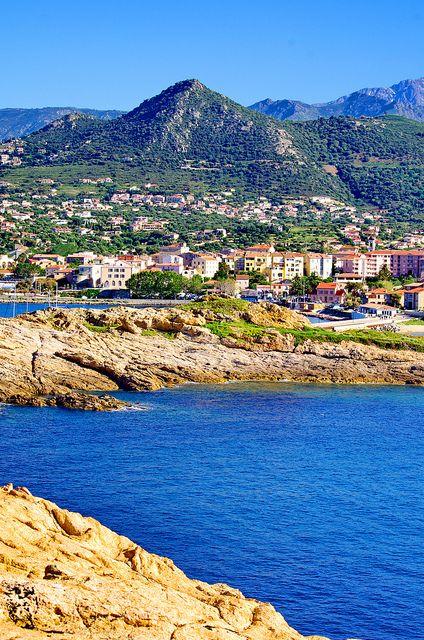 L'Île Rousse, Corsica, France