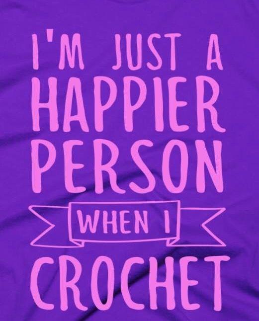 happiness = crochet
