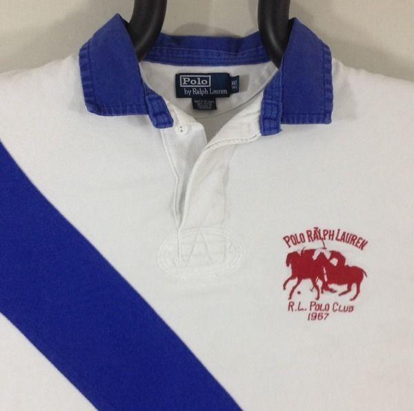 Ralph lauren polo shirt xlt vintage r l polo club 1967 for Ralph lauren polo club shirts