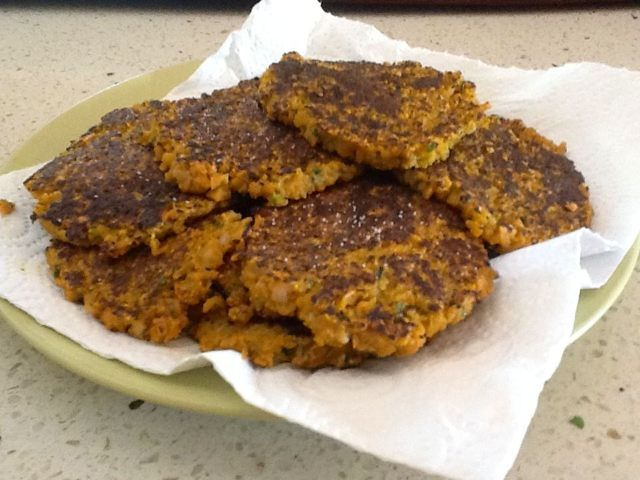 Forum Thermomix- Sweet Potato & Zucchini Fritters