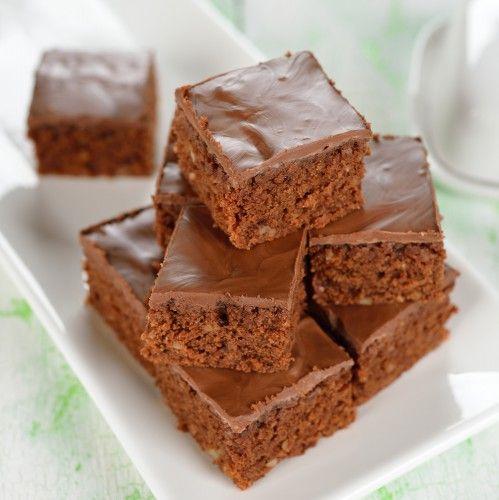 Jednoduchý kakaový koláčik 1 šálka (240ml) kryštálového cukru 1 šálka polohrubej múky 1 šálka mlieka 1/2 šálky oleja 2 vajcia 5 lyžíc kakaa 1 vanilkový cukor 1 prášok do pečiva môžete pridať hrozienka orechy kandizované ovocie vymiešame si šľahačom cukor s kakaom a mliekom a s olejom.Potom pridáme vajcia vanilkový cukor a preosiatu múku s práškom do pečiva..Všetko spolu vymiešame Cesto vylejeme na vymastený plech a pečieme 30 minút pri 175°C . polejeme čokoládovou polevou.