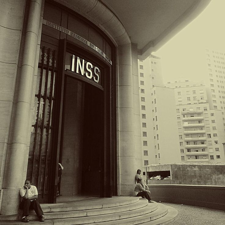 """""""Foto by Talita Borges  #saopaulocity #inss"""""""