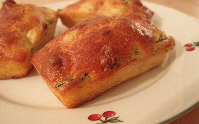 Cake aux courgettes chèvre et chorizo