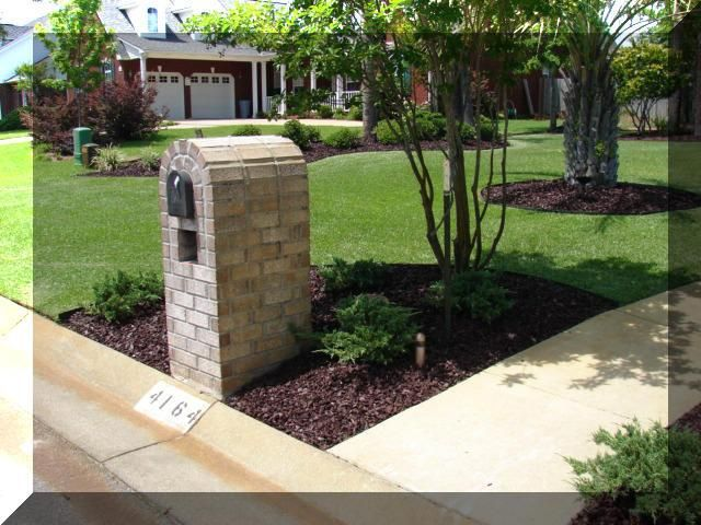 Garden Ideas Around Mailbox 17 best mailbox landscaping images on pinterest | landscaping