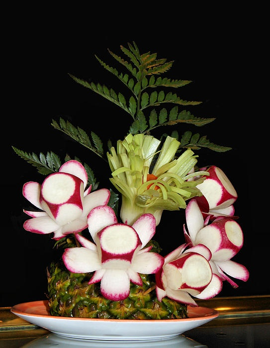 1000  Images About Food Art Flowers On Pinterest
