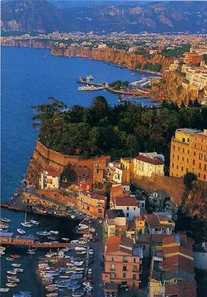 Sorrento, Italy. Base camp for our time exploring the Amalfi coast.  The Amalfi coast is my favorite place in Italy that I have been to.