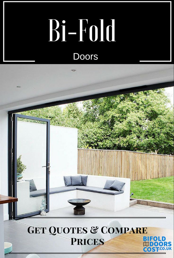 Get the best quotes from trusted, local & national bi-fold door installers. Bring the outside in today! #bifolds