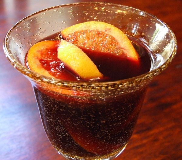 This is truly the best red wine sangria recipe, packed with plenty of fruit.