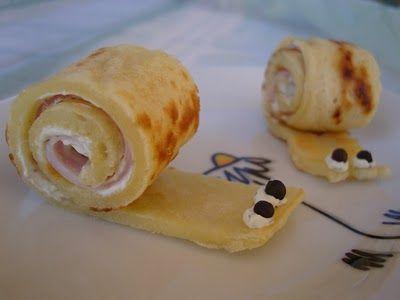 Pfannkuchen-Schnecken