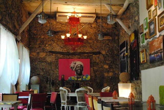 Restaurante Krioyo - Cartagena, Colombia