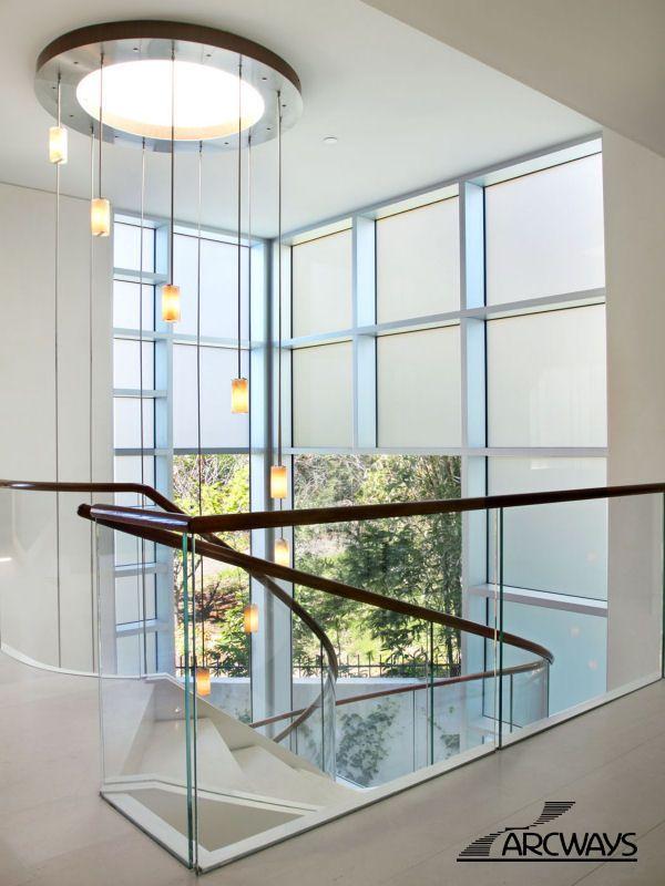 Best 25+ Glass stair railing ideas on Pinterest | Glass ...
