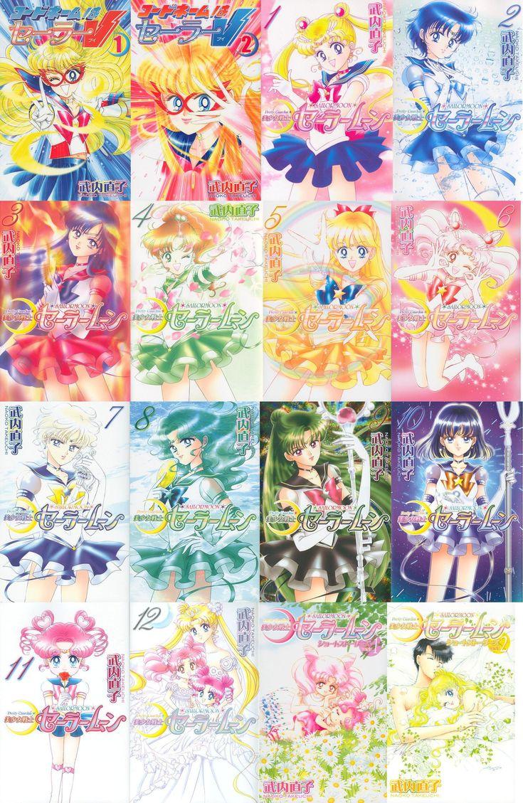 Sailor Moon manga by SierraLarson