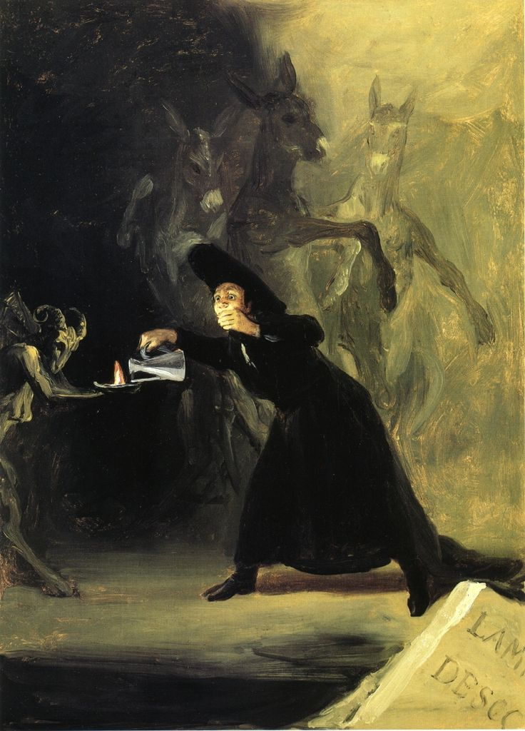 The Devil's Lamp - Goya