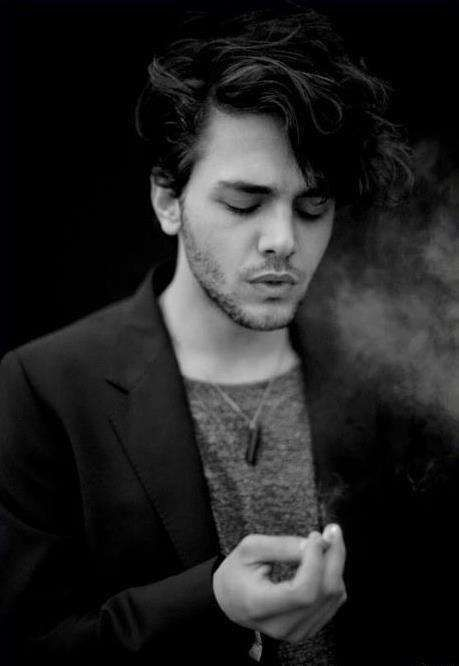 Xavier Dolan. Yasss! Getting ready to watch his autobiography on the netflix.