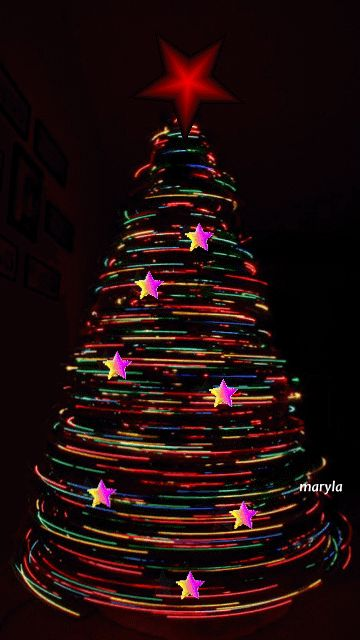Christmas tree gifs | Spinning Christmas Tree Pictures, Photos, and Images for Facebook ...
