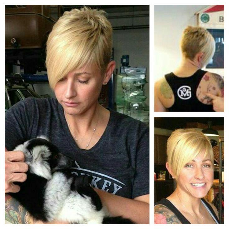 Christie Brimberry hair