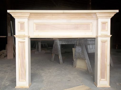 Custom Made Paint- Grade Fireplace Mantel Surround - 17 Best Ideas About Fireplace Surround Kit On Pinterest Antique