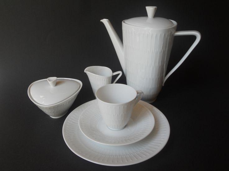 "Coffee Set ""Apart"" (Hans Achziger for Hutschenreuther Germany, 1957)"